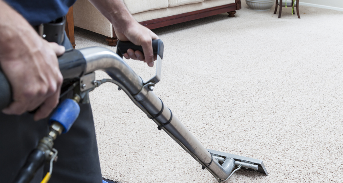 Professional truck mount carpet cleaning