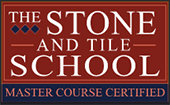 The Stone And Tile School Master Course Certified.